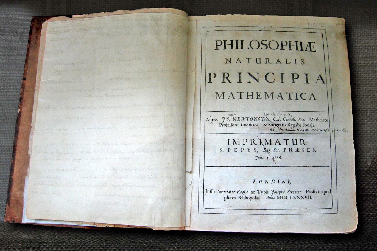 《自然哲学的数学原理》