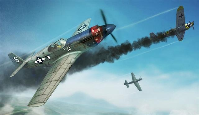 """P-51""""野马""""战斗机"""