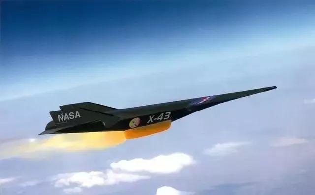 NASA所研发的X-43A飞行器,装备了超燃冲压发动机,是人类所建造出来的速度最快的飞行器