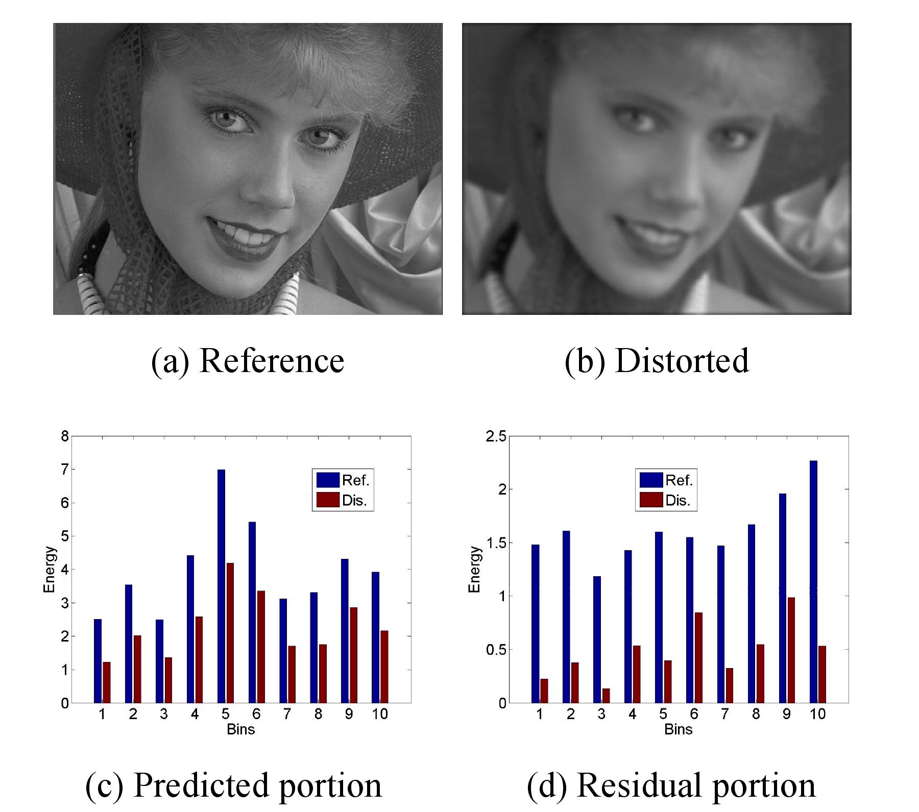 影像不同噪点对感官的区别(图片来源,引文一)