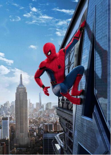 图6蜘蛛侠攀爬